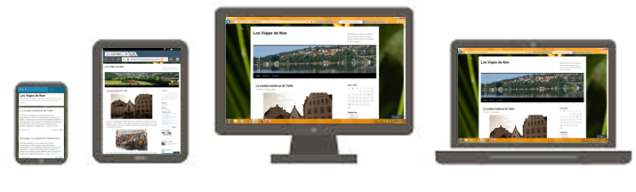 Blog responsive design